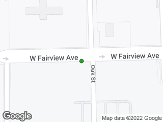 Map showing location of Fairview & Carver HS