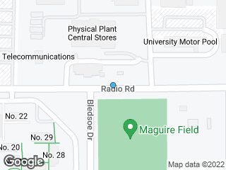 Map showing location of UF Counseling and Wellness Center