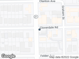 Map showing location of Cloverdale Rd & Norman Bridge Rd
