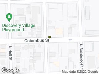 Map showing location of Columbus & Decatur