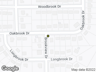 Map showing location of Oakbrook & Brookview