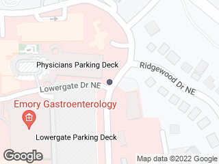 Map showing location of Lowergate @ Gambrell
