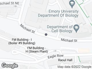 Map showing location of Michael St Deck @ Michael Street