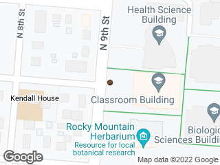 Map showing location of Classroom Building