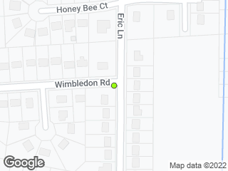 Map showing location of Wimbledon & Eric