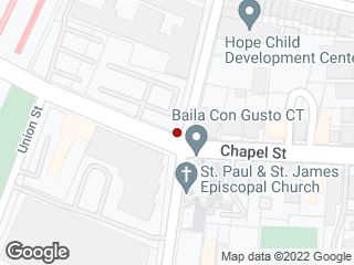 Map showing location of Olive/Chapel