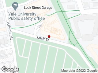 Map showing location of Yale Health Plan