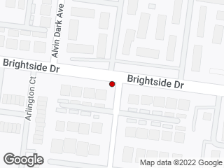Map showing location of Brightside View (Eastbound)
