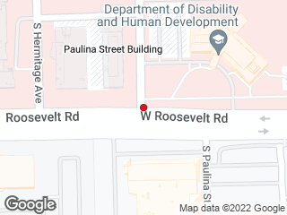 Map showing location of Roosevelt & Paulina