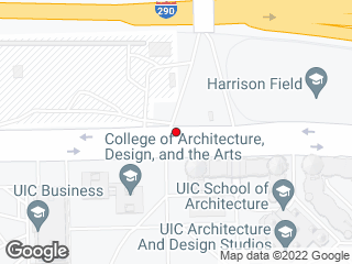 Map showing location of Harrison & Peoria West Bound