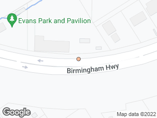 Map showing location of 2952 Birmingham