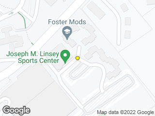 Map showing location of Foster Apartments (Mods/Gosman)