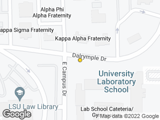 Map showing location of Lab School