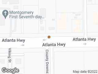 Map showing location of Atlanta & Court Downs