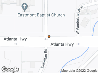 Map showing location of Atlanta & Bowling Green