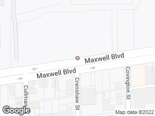 Map showing location of Maxwell & Crenshaw