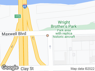 Map showing location of Maxwell & Holt