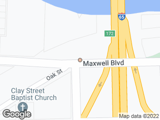 Map showing location of Maxwell & Dickerson