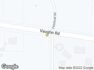 Map showing location of Vaughn at St. James School