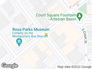 Map showing location of Montgomery St. & Lee St.