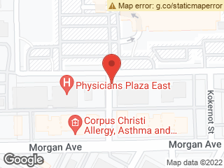 Map showing location of Memorial Hospital TP 2