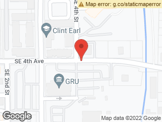 Map showing location of GRU Administration Building