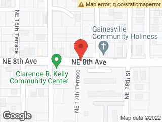 Map showing location of Gardenia Garden Apartments