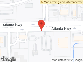 Map showing location of Atlanta & Eastdale Cir Acc East