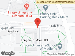 Map showing location of Eagle Row @ Means Dr