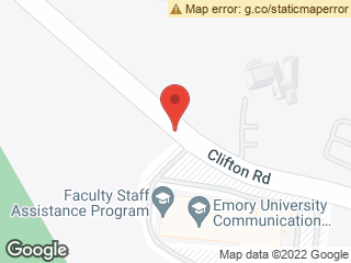Map showing location of Clifton @ 1762 Clifton Rd