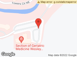 Map showing location of Wesley Woods Budd Terrace