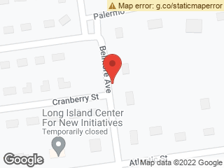 Map showing location of Cranberry Street