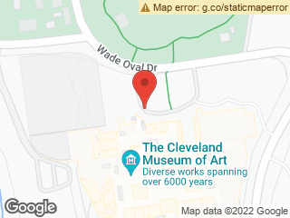 Map showing location of Museum of Art (Front)