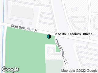 Map showing location of Skip Bertman-Remote Shuttle (Outbound)
