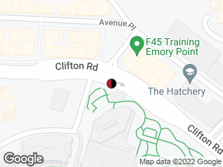 Map showing location of Clifton @ Clifton Way