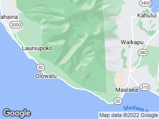 Map showing location of 20: Lahaina Islander