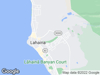 Map showing location of 23: Lahaina Villager