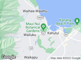 Map showing location of 1: Wailuku Loop