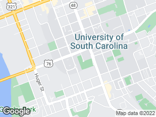Map showing location of West Campus