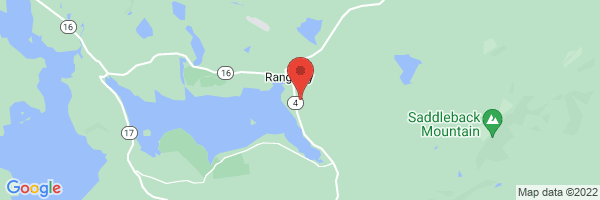 A map showing the location of Rangeley Family Medicine (Healthreach Community Health Center)