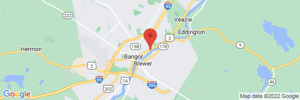 A map showing the location of Center for Diagnostic Imaging - Bangor