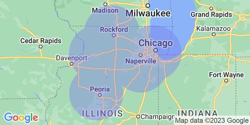 Hiring Area Map