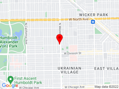Chicago - Western Ave Location Map