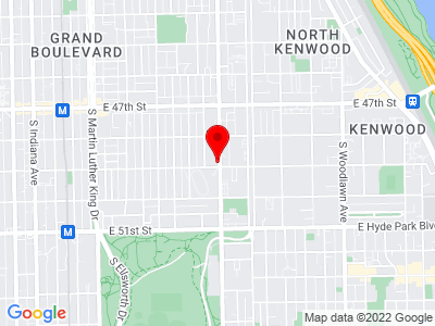 Chicago - Cottage Grove Ave Location Map
