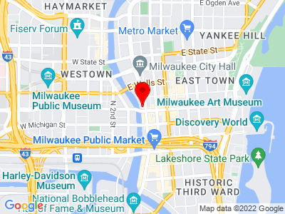 Milwaukee Location Map
