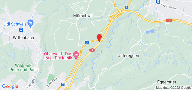 Google Map of Haltelhusstrasse, 9402 Mörschwil
