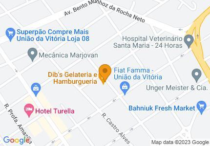 Veja no mapa onde estamos