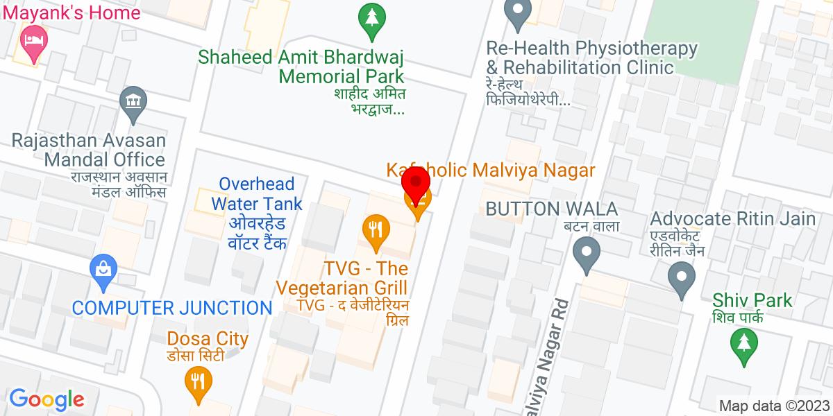 Google Map of Golf Gym