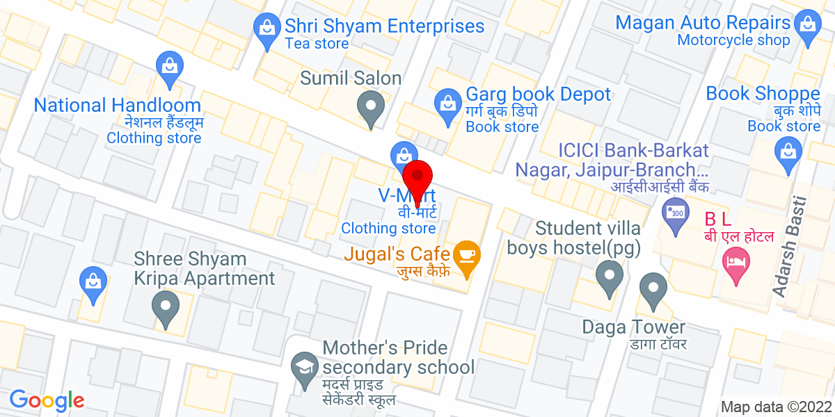 Google Map of The Scissors