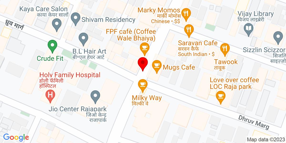 Google Map of Sizzlin Scizzors